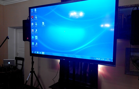 "60"" PLASMA PANELS DEMONSTRATION"