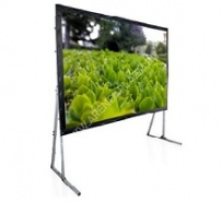 PROJECTION SCREEN FRAME STAND 343x610 SM. FOR REFLECTION/TRANSPARENCE (16:9 ASPECT RATIO)